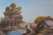 landscape thumbnail painting